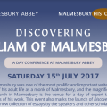 Conference: Discovering William of Malmesbury