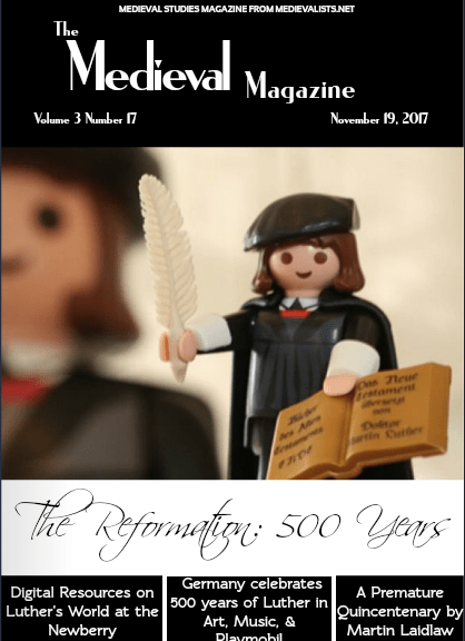 Medieval Magazine - Reformation 500 cover . No. 101