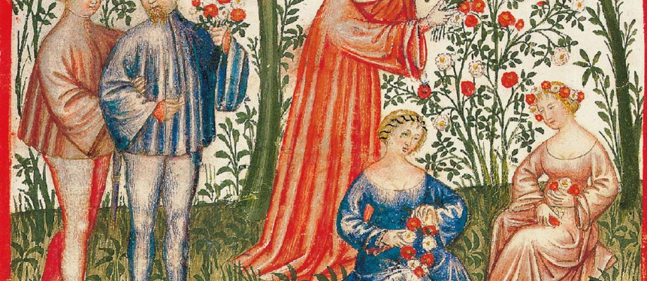 Medieval manuscripts: Ways to Savour Spring in the Middle Ages