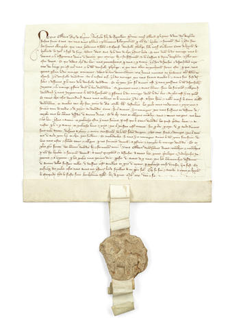 Edward III And Philippa Of Hainault's marriage contract goes up for sale