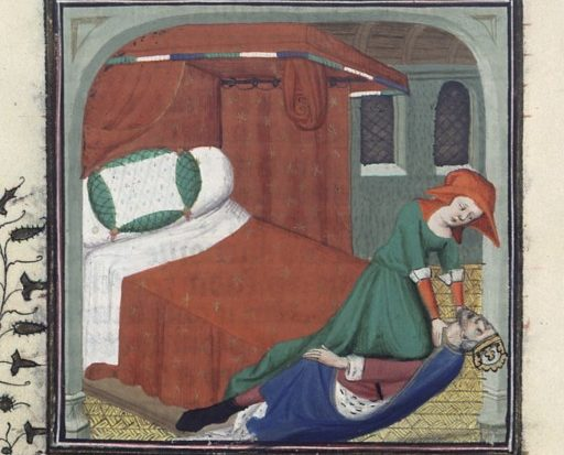 Medieval mystery novels with Candace Robb