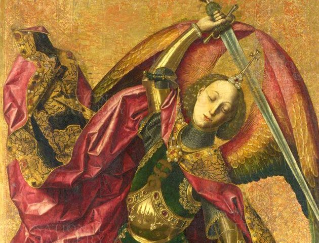 Bermejo and the armour of an archangel