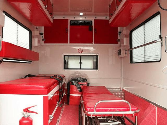 Ambulance basic interior