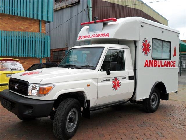 Ambulance Kansanchi Mine Zambia