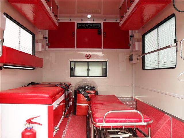 Ambulance Kansanchi Mine Zambia