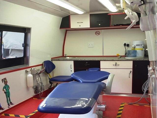 Colgate Dental Unit Exterior