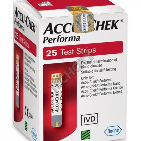 Accu check Performa 25_strips