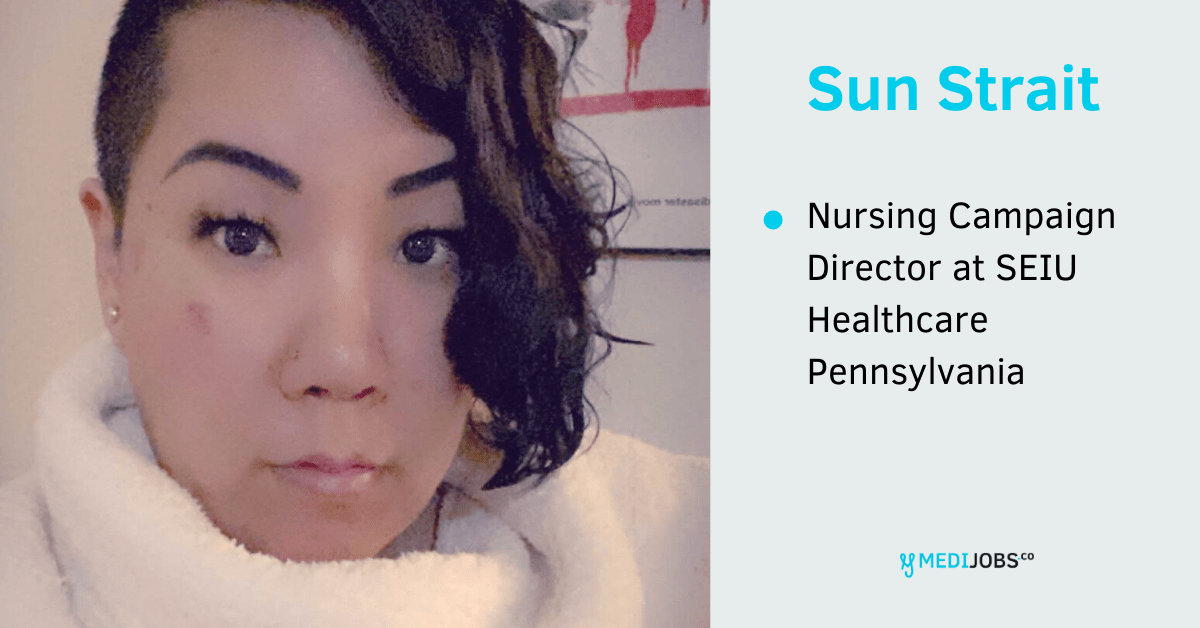 INTERVIEW | Caring for Healthcare Workers during COVID-19 with Nursing Campaign Director Sun Strait