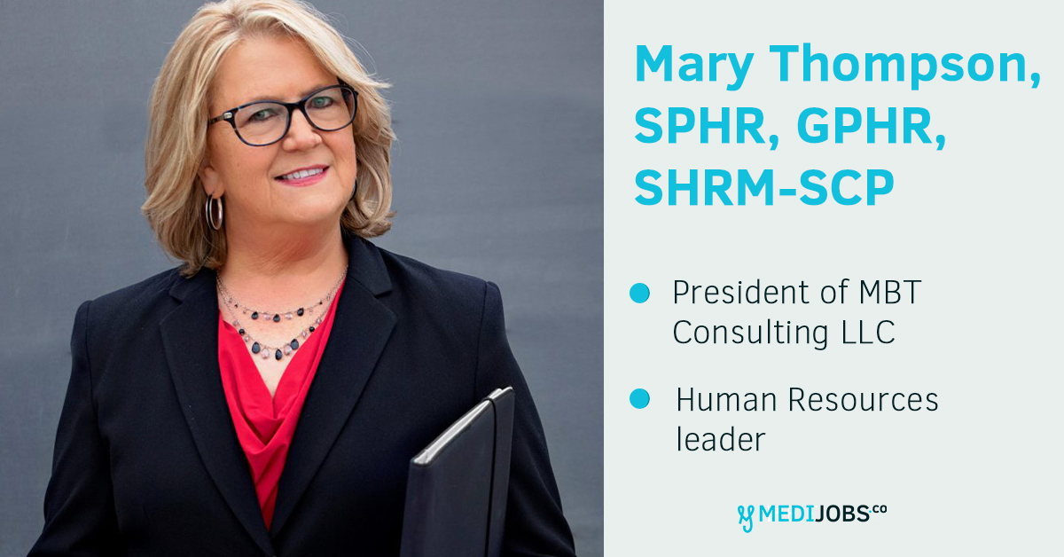 INTERVIEW | Mary Thompson, SPHR, GPHR, SHRM-SCP