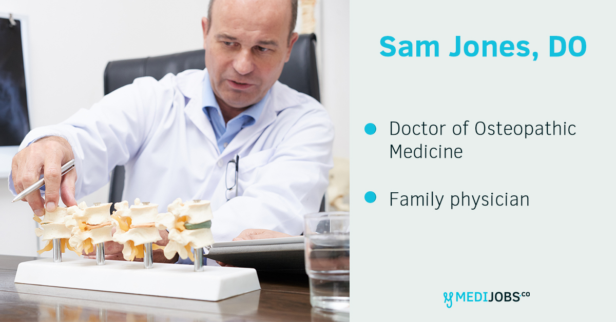 INTERVIEW | The Difference Between an MD and an DO Degree with Dr. Sam Jones