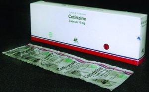 Obat Cetirizine 10 mg