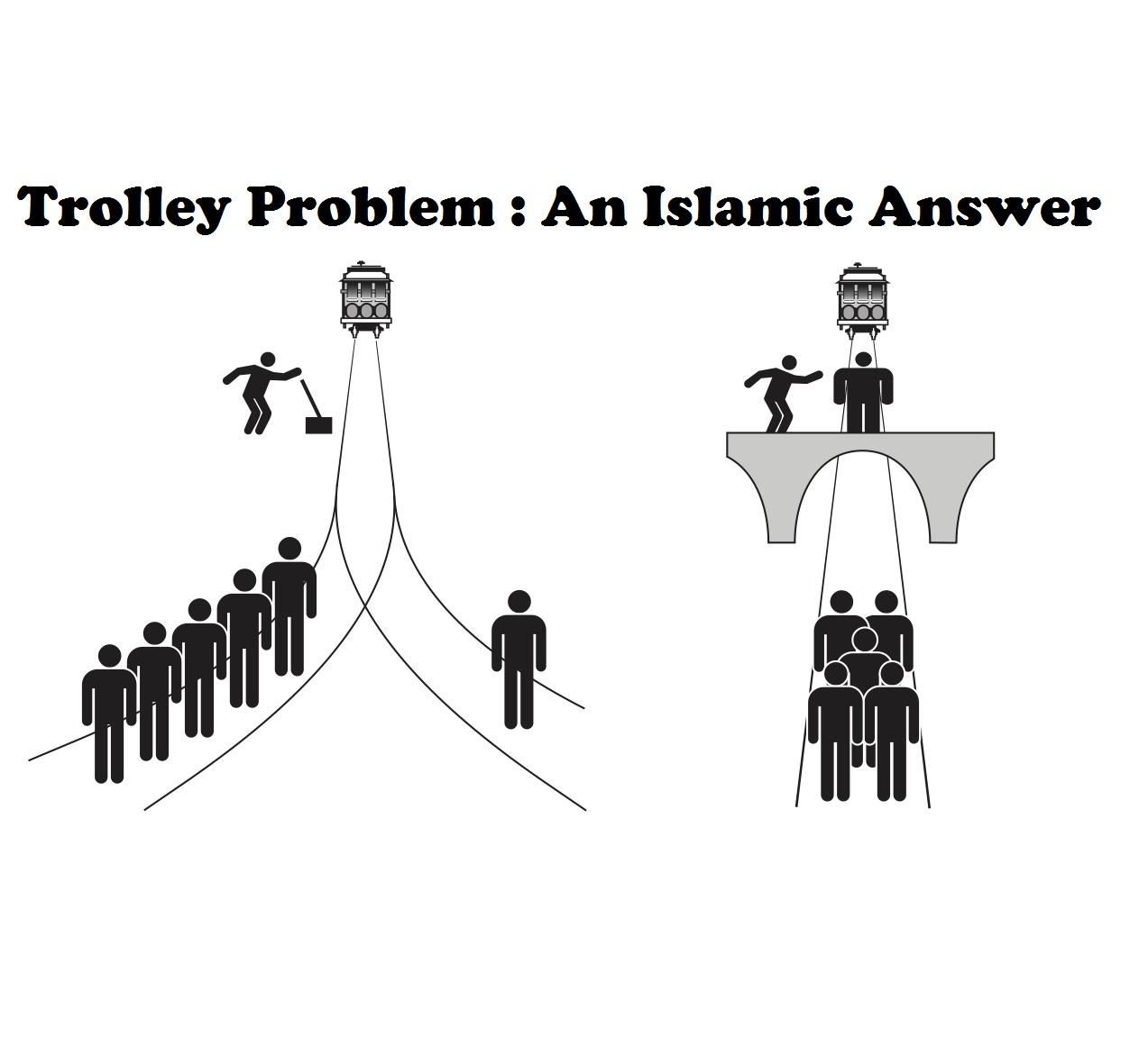 Trolley Problem An Islamic Answer Medina Minds