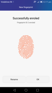 Honor 7 Tip : Use the fingerprint login