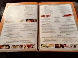 Caffe Concerto Main menu