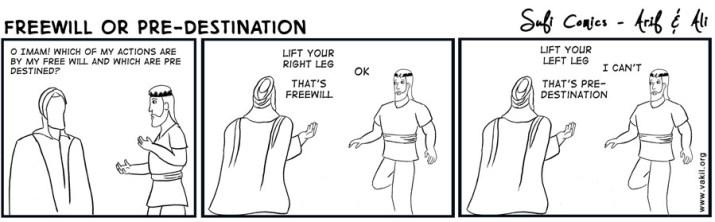 islam free will or predestination