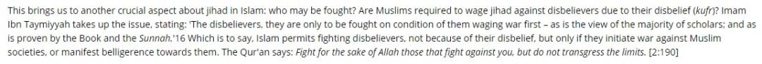 Muslim Matters : peddling Ibn Taymiyyah