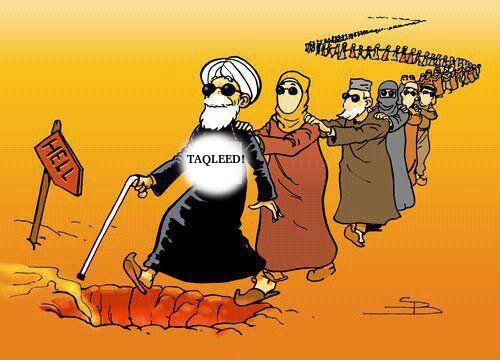 Taqleed blind following