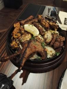 Mumtaz Manchester Mixed grill