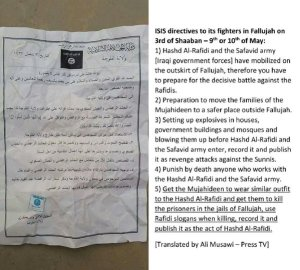 ISIS sectarianism