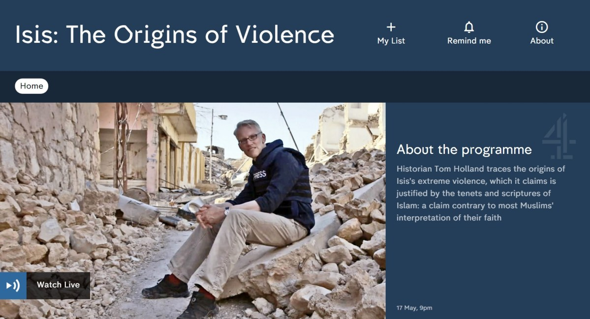 C4 : Isis: The Origins of Violence