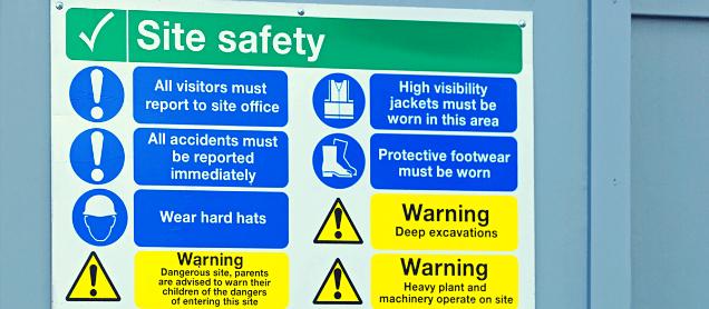 قواعد الصحة والسلامة للمهندسين المعماريين