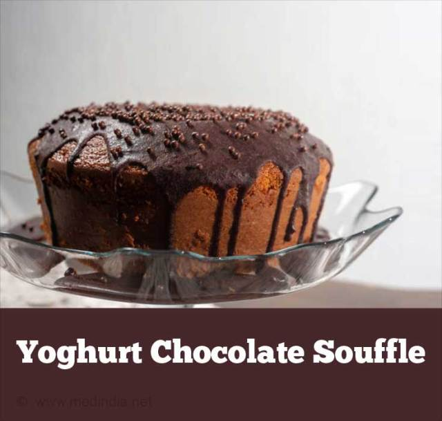 Yoghurt Chocolate Souffl