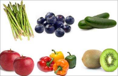 Healthy Way to Lose Weight: Fruits and Vegetables