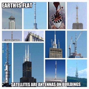 Flat earth Meme Antennas