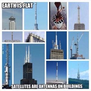 Flat earth Meme Antennas