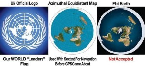 Flat earth meme not accepted