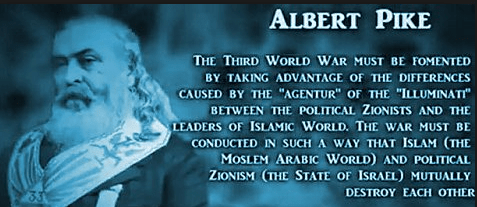 Albert pike world war 3 image