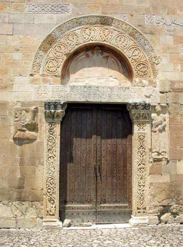 San Pietro ad Oratorium presso Capestrano