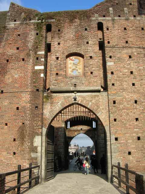 Il Castello Sforzescoa Milano