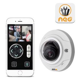 axis ip-kamera neo plugin