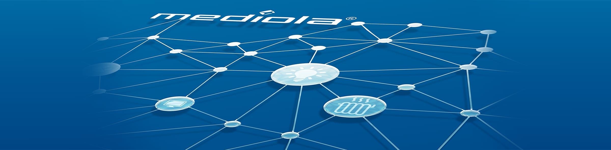 mediola Smart Home Netzwerk