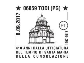 Festa Consolazione, annullo filatelico dedicato alla centenaria ricorrenza