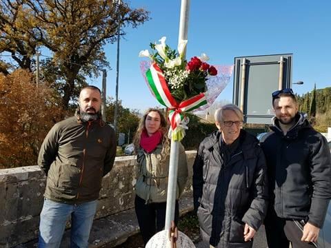CasaPound Todi, ricorda Mario Castellacci nell'anniversario della morte
