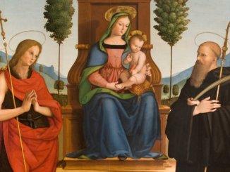 A Bettona arriva La Madonna degli alberelli e il San Girolamo