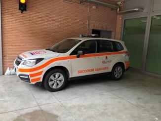 Nuovo mezzo di soccorso per il servizio 118 nella Media Valle del Tevere