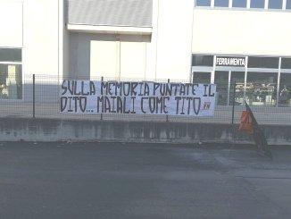 Iniziativa revisionista sul tema delle Foibe, Forza Nuova Perugia reagisce