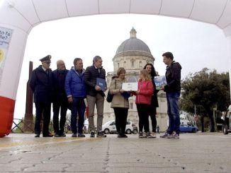 """La """"Staffetta per la Speranza"""" ha raggiunto Todi ultramaratona benefica"""