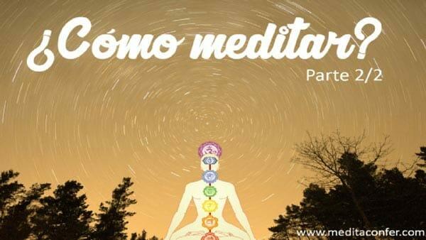 La meditación: Un ejercicio que te calma la mente.
