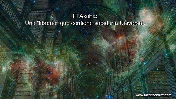 El Akasha continue la información de la existencia.