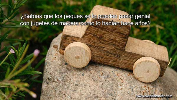 Los juguetes de madera alimentan la mente, la electrónica no. (Sabías Que 2020)