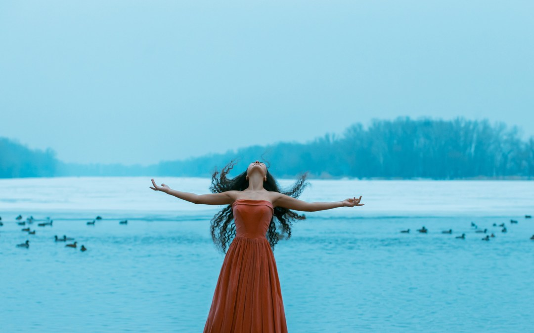 Gocce d'acqua per una meditazione lenitiva
