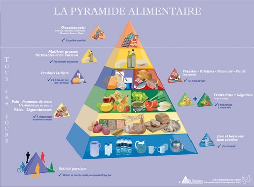 Variante de la Pyramide Alimentaire