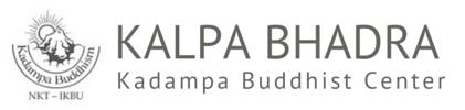 Kalpa Bhadra Kadampa Buddhist Center Logo