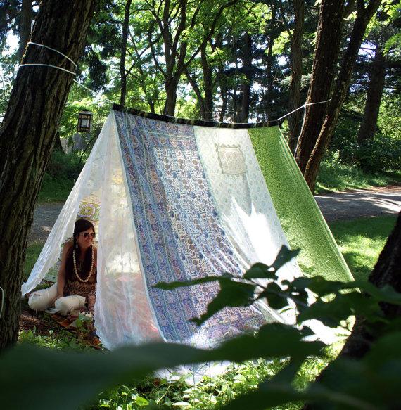 Meditation gifts tent
