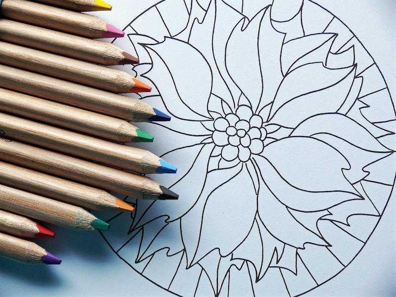 Mandala Coloring Meditation: The Meditation for People Who Suck At It