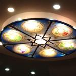 תקרת זכוכית לבית כנסת עם הקדשה